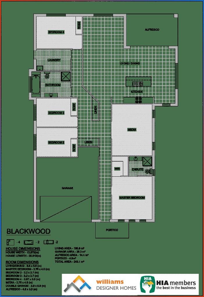 blackwood house blueprint, Designer Homes, first home buyers