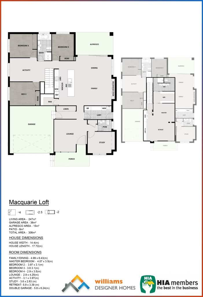 Macquarie Loft, Designer Homes, first home buyers